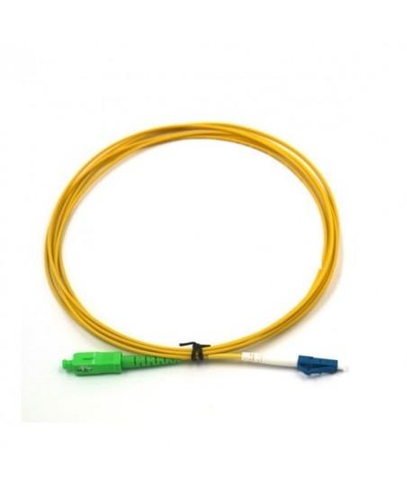 CABLE FIBRA OPTICA 5MT- SC/APC-SC/UPC 3.0MM