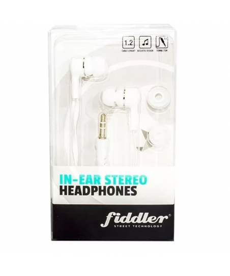 Audifono Fiddler stereo - Blanco