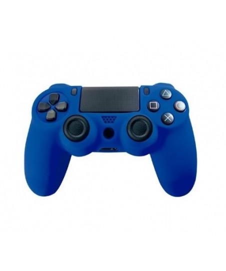 SKIN FUNDA SILICONA PS4 ULTRA BLUE