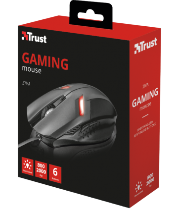 Ziva Gaming Mouse - Trust