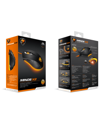 MOUSE GAMER MINOS X2 - COUGAR