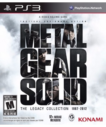 Metal Gear Solid The Legacy...