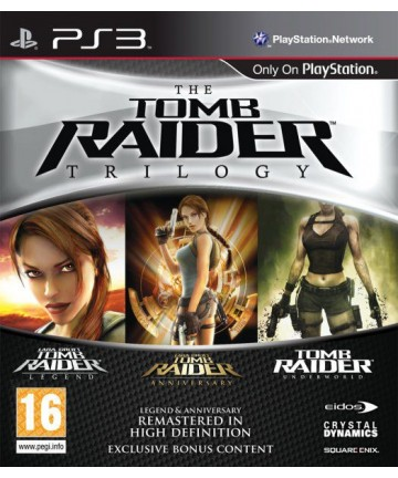 The Tomb Raider Trilogy PS3...