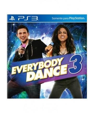 Everybody Dance 3 - PS3 Usado