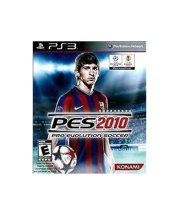 PES 2010 - PS3 Usado