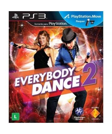Everybody dance 2 - ps3 Usado