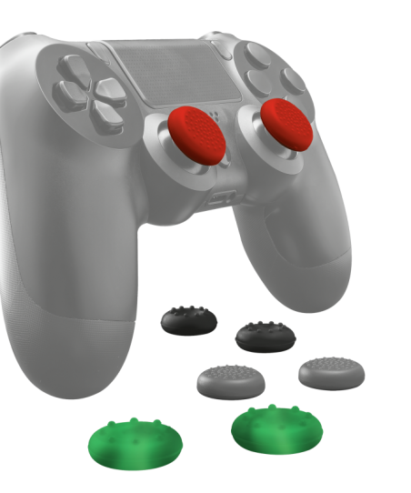 Pack 8 Grips Análogos PS4