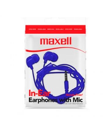 Audifono Maxell in-bax - Azul