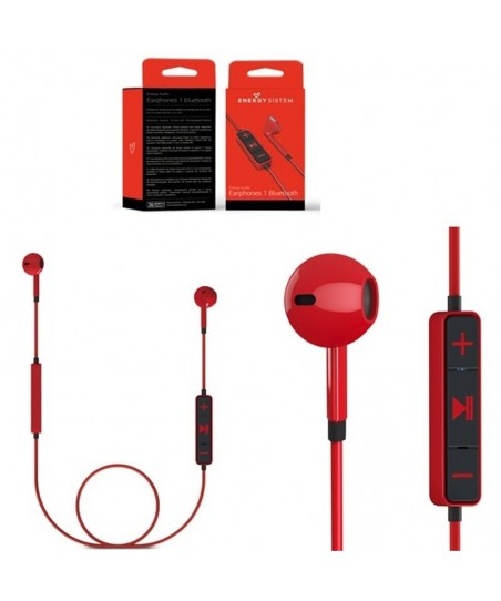 Audifono Energy Sistem earphones 1 BT - Rojo