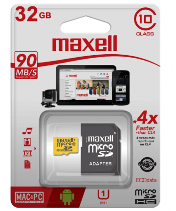 Memoria MicroSD HC 32GB...