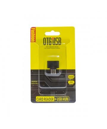 Adaptador OTG Micro USB a USB