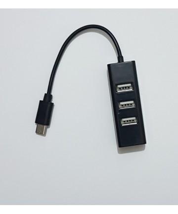 Hub tipo C - 4 Puertos USB 2.0