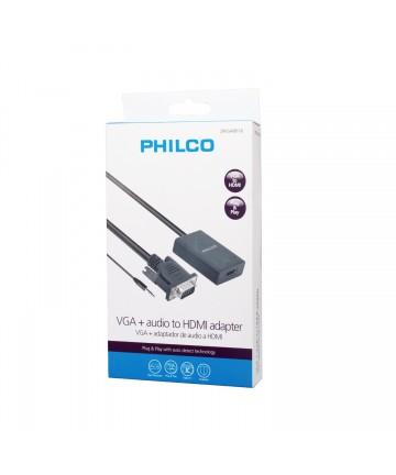 Convertidor VGA + Audio a...