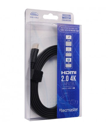 Cable HDMI plano 1.8mts 4K...