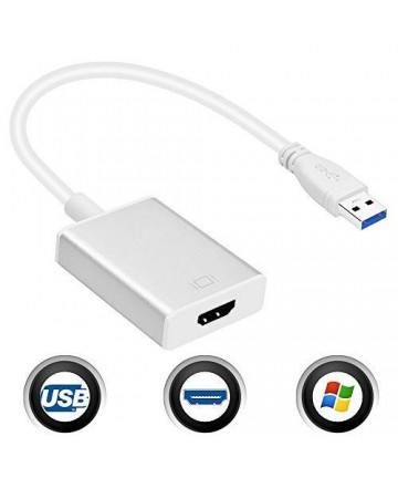 Adaptador Video USB 3.0 a...